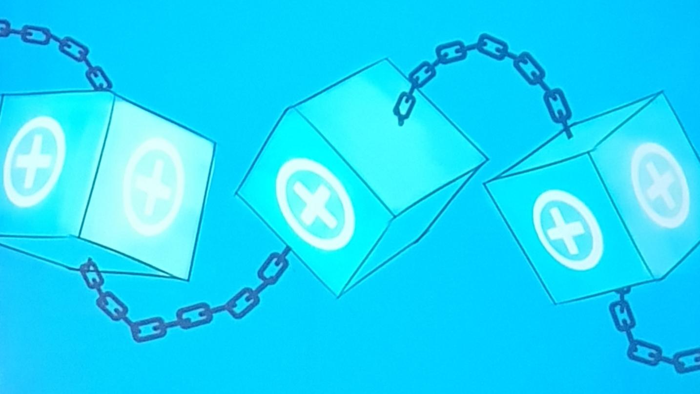 Blockchain is transformative technology