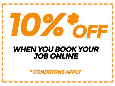 10% Off for Booking Online