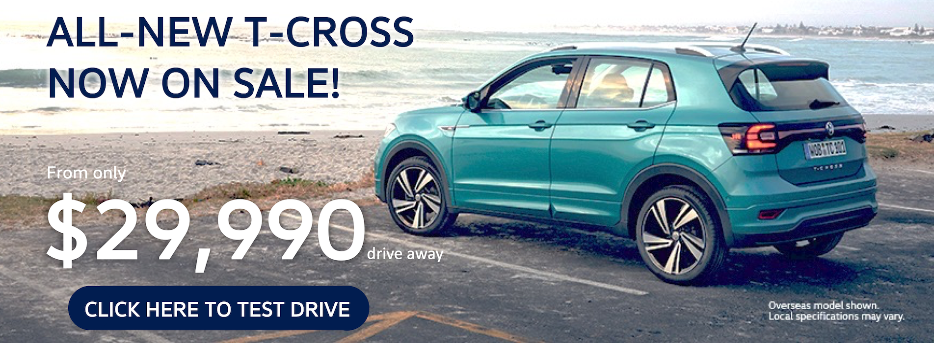 T-Cross Now On Sale