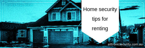 Home security tips for renting