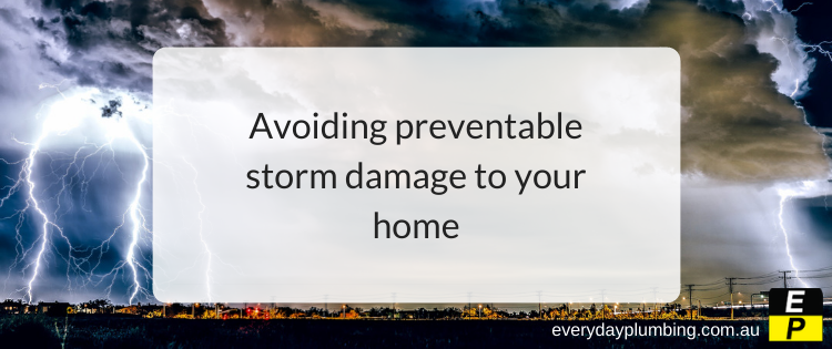 Avoiding preventable storm damage to your home