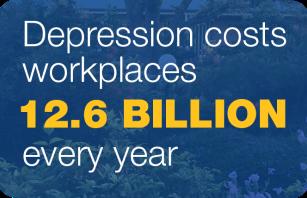 Depressions costs workplaces 12.6 billion per year