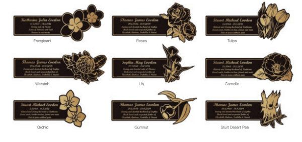Floating Plaque - Fauna Selection