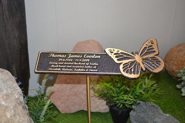 Floating Plaque - Butterfly