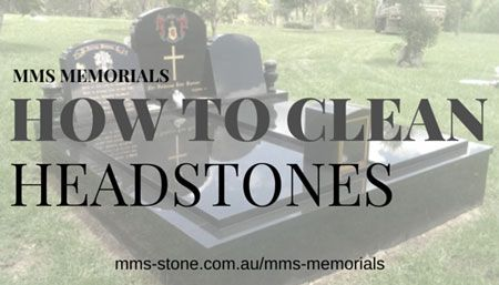 How to clean headstones