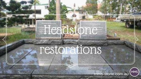 Headstone restorations