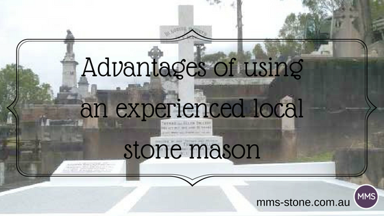 Advantages of using an experienced local stone mason