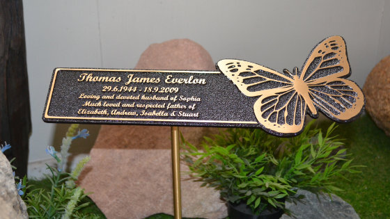 New Floating Series Bronze Plaques