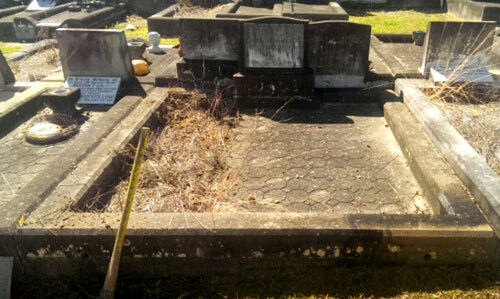 How damaged is too damaged? Headstone repairs
