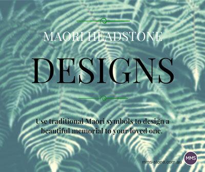Maori headstone designs