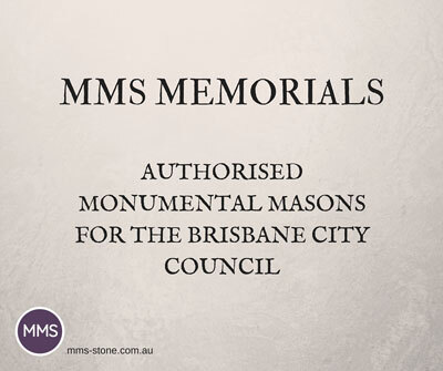 Authorised monumental masons for the Brisbane City Council