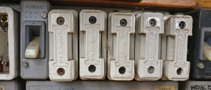 Old Fuse Board