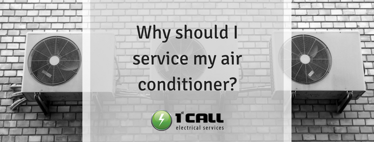 Why should I service my air conditioner?