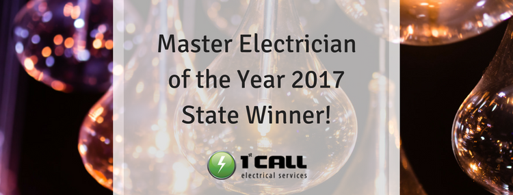 Winner of the 2017 Master Electrician of the Year (Victoria)