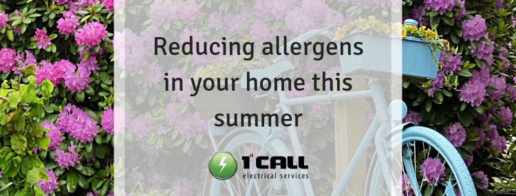 Reducing allergens in your home this summer