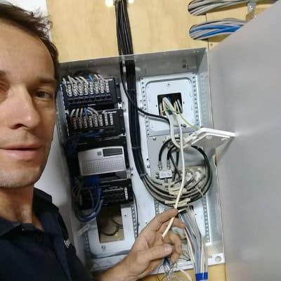 Powerix Electrician repairing electrical wiring
