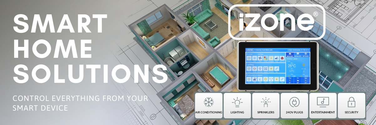izone wifi air conditioning smart home