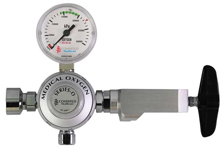 Regulator Medical Oxygen Yoke Inlet Series O