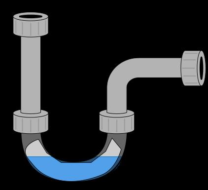 P-trap drain