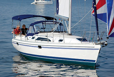 Catalina 355 plus Charter Business
