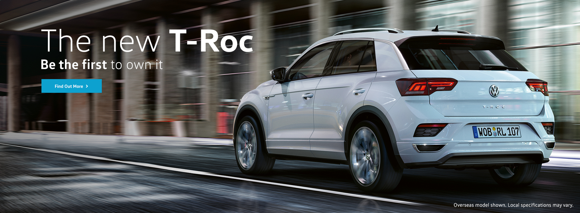 The new T-Roc. Be the first to own it.