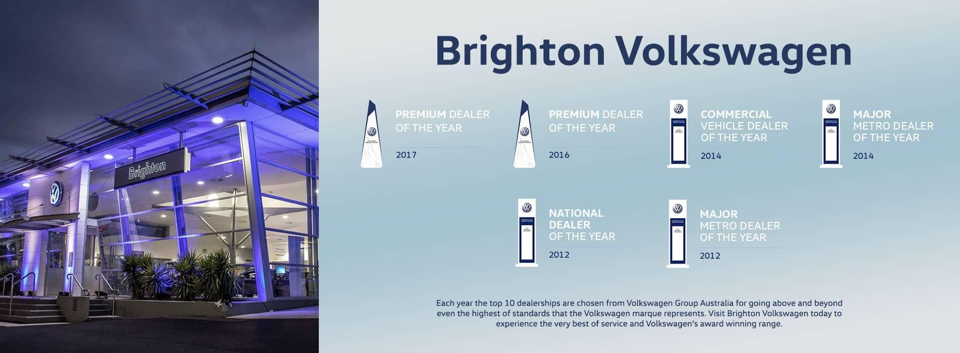 Brighton Volkswagen Awards