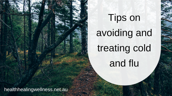 Tips on avoiding and treating cold and flu