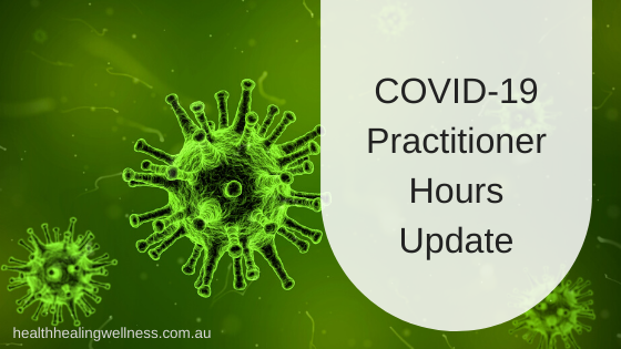 COVID-19 Practitioner Hours Update