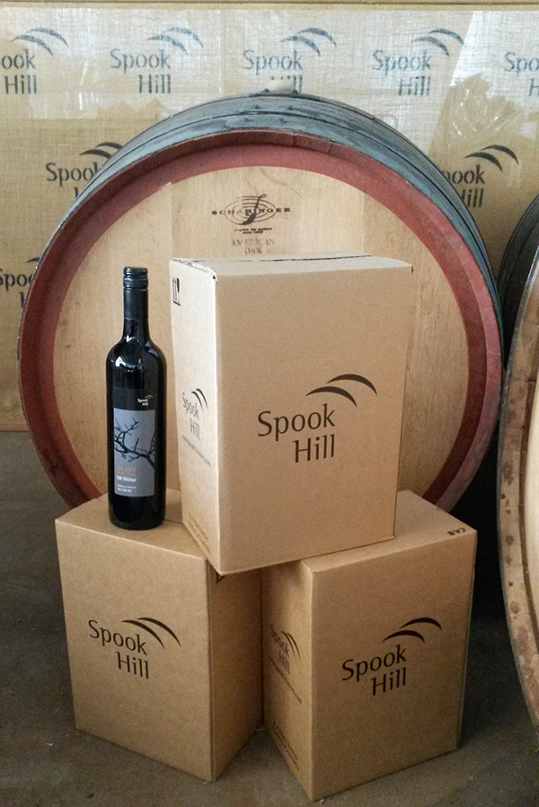 Contact Spook Hill Wines