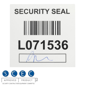 Large Security Wafer Seal (125mm x 125mm)