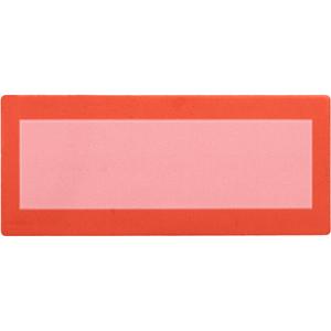 Plain Red Tamper Evident Label