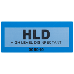 High Level Disinfectant Label by Tamper Evident