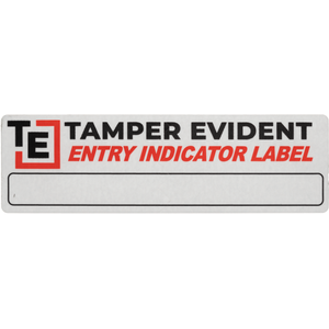 Entry Indicator Security Label by Tamper Evident