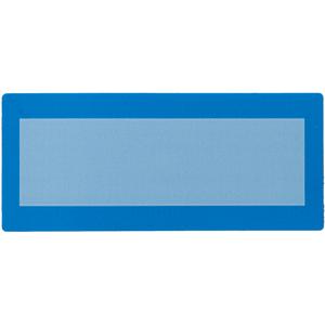 Plain Blue Tamper Evident Label