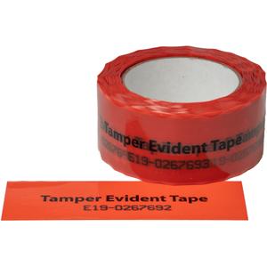 Red Tamper Evident Tape