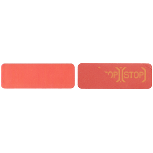 Small Red Tamper Evident Label