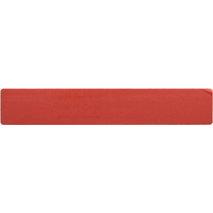 Skinny Red Security Label (70mm x 12mm) - Permanent