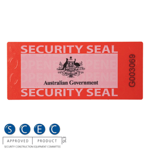 SCEC7030G Security Wafer Seal (Australian Government Use Only)
