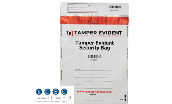 SCEC Endorsed Security Bags