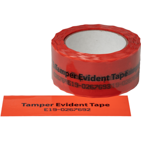 Product Substitution Security Tape