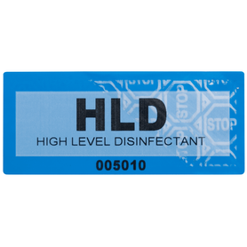 High Level Disinfectant Labels