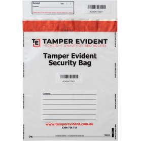 Evidence Security Bag