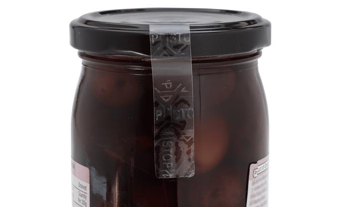 Food Jar Security Seal