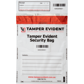 Security Bags for Daily Cash Takings