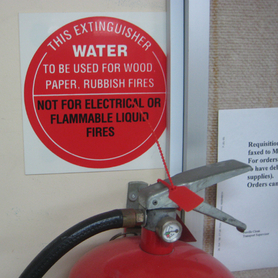 Fire Extinguisher Seal