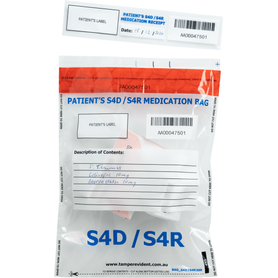 S4D/S4R Medication Bags