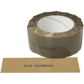 Security Tape for Cartons and Boxes