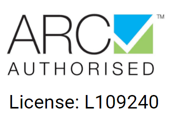 ARC Authorised Logo