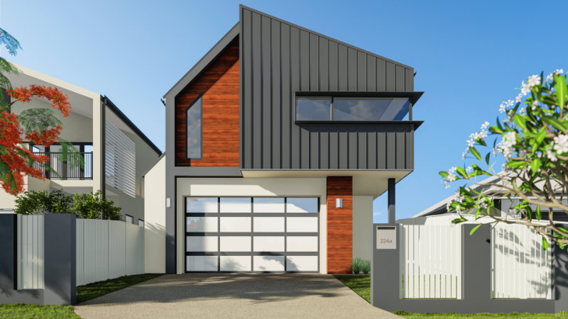 Draft Render - new house