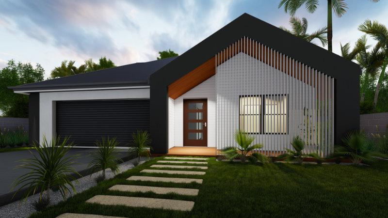 Draft Render - Custom House Design